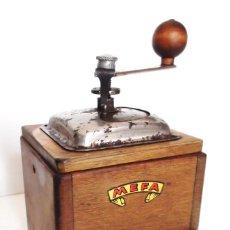 Antigüedades: MOLINILLO DE CAFÉ MARCA MEFA. ALEMANIA. CA. 1940. Lote 205575620