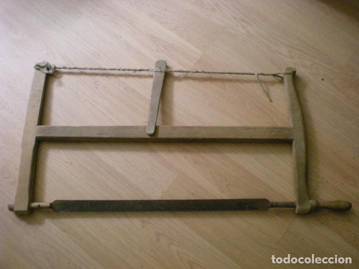 ANTIGUA SIERRA DE VAIVEN (Antigüedades - Técnicas - Herramientas Profesionales - Carpintería )