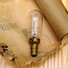 Antigüedades: BOMBILLA PHILIPS LAMPARA PATHE 9,5 MM TIPO O. . Lote 86515592