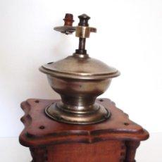 Antigüedades: ANTIGUO MOLINILLO DE CAFÉ CON COLUMNAS. ALEMANIA. CA. 1875/1900. Lote 86472276