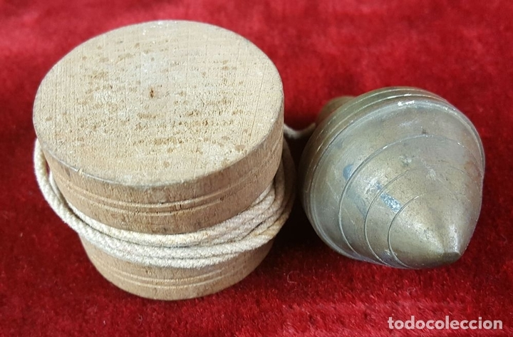 Antigüedades: COLECCIÓN DE 14 PLOMADAS DE ALBAÑIL. BRONCE. SIGLO XVIII-XIX-XX. - Foto 3 - 86550680