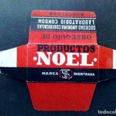 Antigüedades: HOJA DE AFEITAR ANTIGUA-OBSEQUIO DE PRODUCTOS NOEL-VINTAGE. Lote 86555844