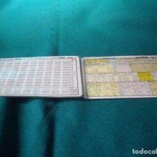 Antigüedades: TABLAS DE FORMULAS 1969. Lote 86669168