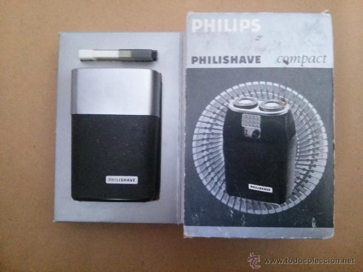 Antigüedades: PHILIPSHAVE COMPACT HP1204 - Foto 1 - 86698612