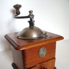 Antigüedades: MOLINILLO DE CAFÉ MARCA GOLDENBERG. MODELO 2819-BDN, FRANCIA. 1912/1934. Lote 86718896