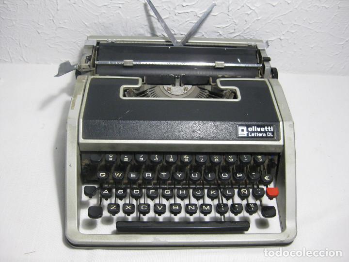 MAQUINA DE ESCRIBIR OLIVETTI LETTERA DL (Antigüedades - Técnicas - Máquinas de Escribir Antiguas - Olivetti)