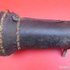 Antigüedades: ANTIGUA CAJA DE MADERA, PARA COMPAS DE MARCACION O DEMORA MANUAL...AÑOS 20..RARA. Lote 86727232