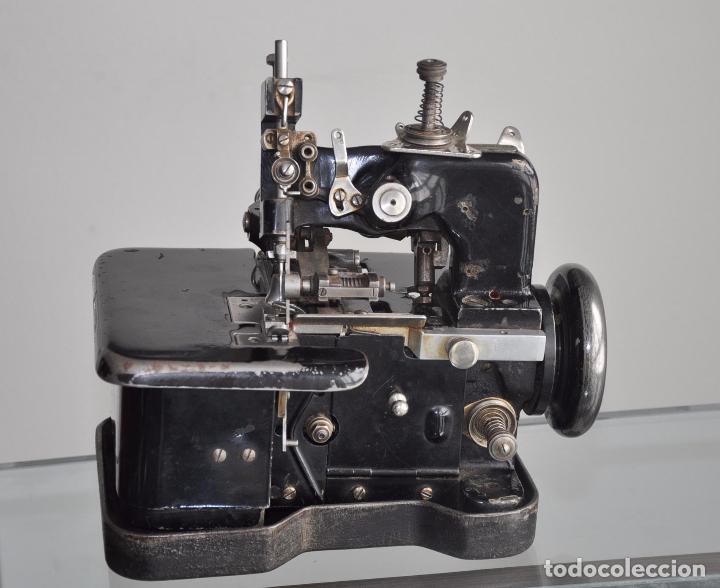 ANTIGUA Y RARA MAQUINA DE COSER - VIRGINIO RIMOLDI - STELLA ZB - MACHINE SEWING (Antigüedades - Técnicas - Máquinas de Coser Antiguas - Otras)