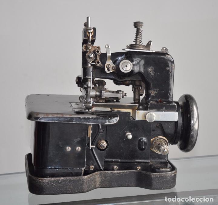 Antigüedades: ANTIGUA Y RARA MAQUINA DE COSER - VIRGINIO RIMOLDI - STELLA ZB - MACHINE SEWING - Foto 5 - 86815940
