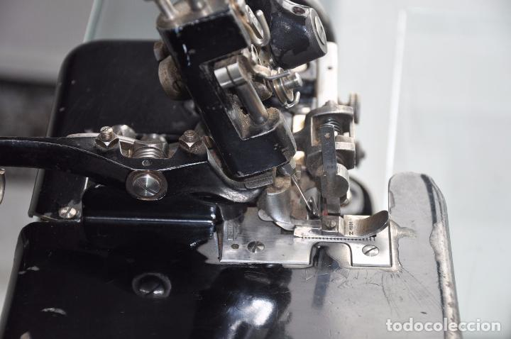 Antigüedades: ANTIGUA Y RARA MAQUINA DE COSER - VIRGINIO RIMOLDI - STELLA ZB - MACHINE SEWING - Foto 10 - 86815940