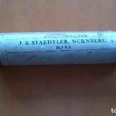 Antigüedades: PAQUETE COMERCIAL DE LA EMPRESA J.S.STAEDLER NURNBERG MARS,CON DESTINO A LORENZO BRUNET DIBUJANTE. Lote 86842984