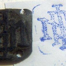 Antigüedades: ANTIGUO SELLO O CUÑO DE IMPRENTA ÉPOCA GUERRA CIVIL PROCEDENTE DE CATALUÑA . Lote 86890168