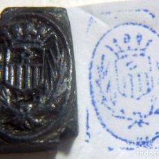 Antigüedades: ANTIGUO SELLO O CUÑO DE IMPRENTA ÉPOCA GUERRA CIVIL PROCEDENTE DE CATALUÑA . Lote 86890200