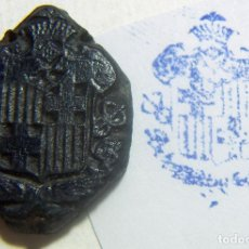 Antigüedades: ANTIGUO SELLO O CUÑO DE IMPRENTA ÉPOCA GUERRA CIVIL PROCEDENTE DE CATALUÑA . Lote 86890436