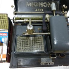 Antigüedades: MÁQUINA ESCRIBIR MIGNON Nº3. Lote 86962236