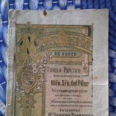 Antigüedades: LIBRO DE CURSO DE CONFECCIÓN AÑO 1903. Lote 86970764