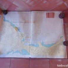 Antigüedades: CARTA NAUTICA INSTITUTO GEOGRAFICO MARINA ISLA DE GRAN CANARIA PUERTO DE LA LUZ. Lote 86975128