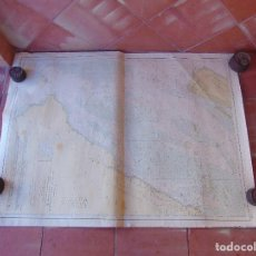 Antigüedades: CARTA NAUTICA INSTITUTO GEOGRAFICO MARINA COSTA DE AFRICA BAHIA VILLA CISNEROS PESCADOR A DURNFORD. Lote 86975260