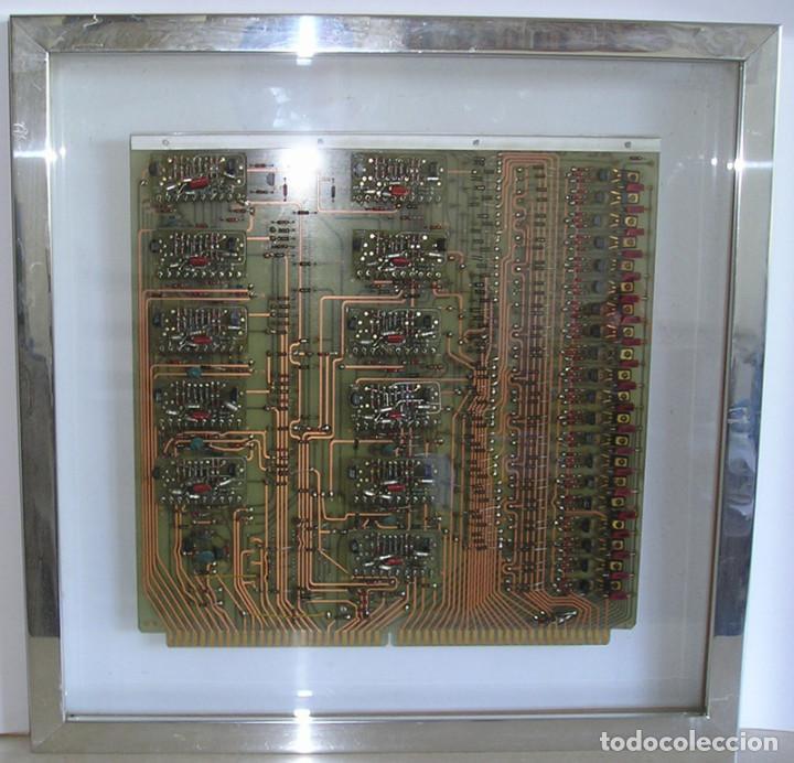 PLACA CONTROL DE PERIFERICOS. AÑOS 70 (Antigüedades - Técnicas - Ordenadores hasta 16 bits (anteriores a 1982))