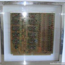 Antigüedades: PLACA CONTROL DE PERIFERICOS. AÑOS 70. Lote 87007196