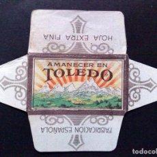 Antigüedades: HOJA DE AFEITAR ANTIGUA-AMANACER EN TOLEDO-EXTRA FINA-VINTAGE. Lote 87044244