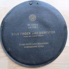 Antigüedades: STAR FINDER AND IDENTIFIER BUSCADOR E IDENTIFICADOR DE ESTRELLAS Nº 2102-C A-N TYPE 1 US NAVY 1942. Lote 87235228