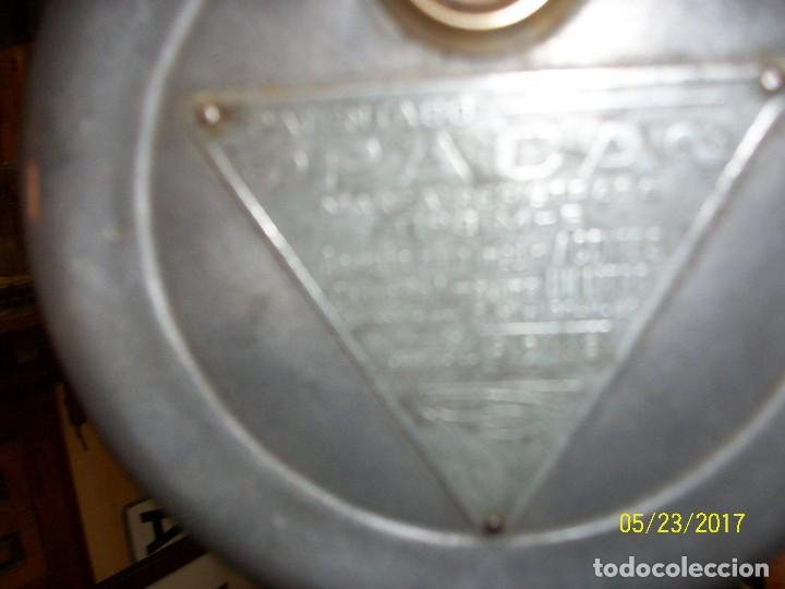 Antigüedades: ANTIGUA MAQUINA PARA MEDIR ACEITES-ANASTASIO ALEMAN-MURCIA-AÑO 1949 - Foto 9 - 87264740