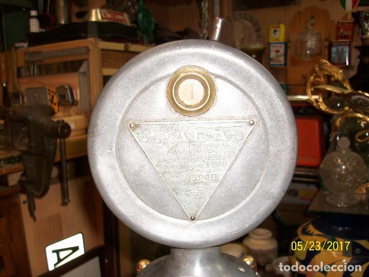 Antigüedades: ANTIGUA MAQUINA PARA MEDIR ACEITES-ANASTASIO ALEMAN-MURCIA-AÑO 1949 - Foto 10 - 87264740
