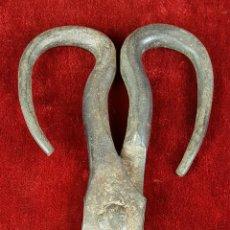 Antigüedades: TIJERAS INDUSTRIALES. HIERRO FORJADO. SIGLO XVIII-XIX.. Lote 87223828