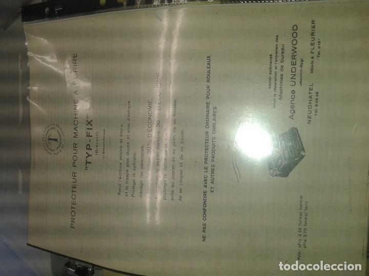 Antigüedades: MAQUINA DE ESCRIBIR MERCEDES FRANCESA CON FUNDA Y GOMA SALVAPAPEL - Foto 3 - 87299396