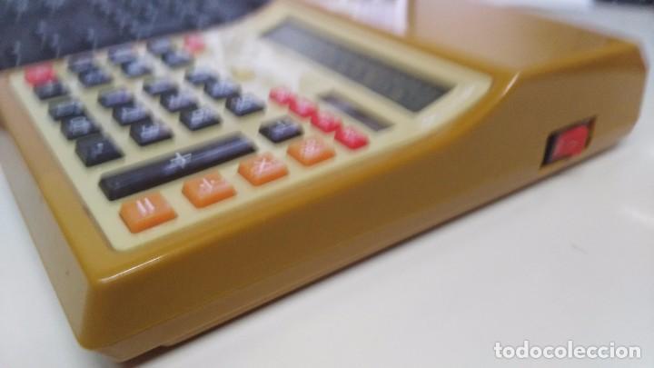 Antigüedades: antigua calculadora fisura funcionando - Foto 4 - 167659126