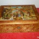 Antigüedades: COSTURERO MADERA ANTIGUO. Lote 87381160