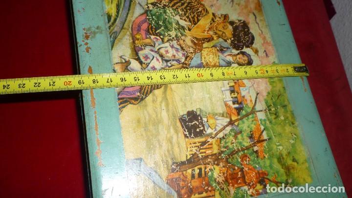 Antigüedades: costurero madera antiguo - Foto 6 - 87381296