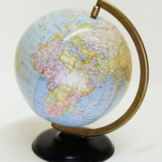 Antigüedades: 1957 GLOBO TERRÁQUEO HINCHABLE DE STANDARD COLLEGE NEW YORK INFLATABLE TERRESTRIAL GLOBE. Lote 87404360