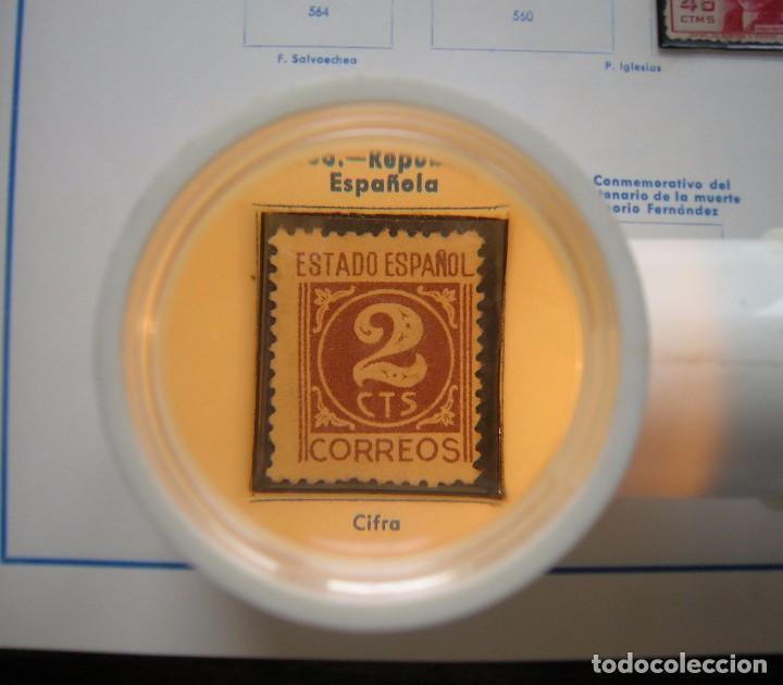 Antigüedades: MACROSCOPE, LUPA SONCA (BRITANICA) CON LUZ PARA COLECCIONISTAS. VER FOTOS - Foto 4 - 87439344