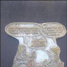 Antigüedades: PLACA MUY GRANDE TIO PENCHO MURCIA. Lote 87498560
