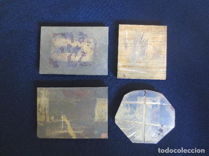 Antigüedades: PLACAS O PLANCHAS DE IMPRENTA CON MOTIVOS HERALDICOS - Foto 2 - 87499004