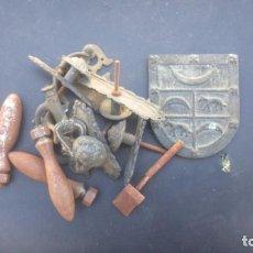 Antigüedades: LOTE TIRADORES. Lote 87499624