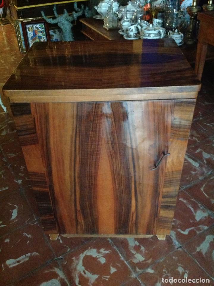 Antigüedades: Máquina de coser Alfa con el cabezal y mueble - Foto 3 - 87537536
