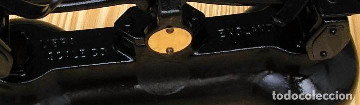 Antigüedades: Balanza inglesa Librasco de hierro fundido. - Foto 6 - 87549908