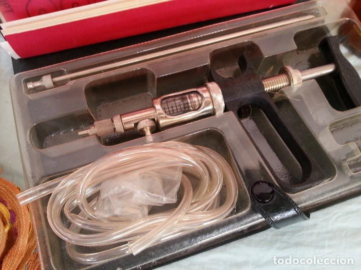 Antigüedades: JERINGA MÉDICA AUTOMÁTICA. AÑOS 80. ORIGEN BÚLGARO. OLD SYRINGE: - Foto 5 - 87593800