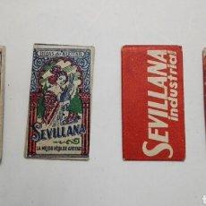 Antigüedades: 4 HOJAS DE AFEITAR LA SEVILLANA A ESTRENAR. Lote 87601284