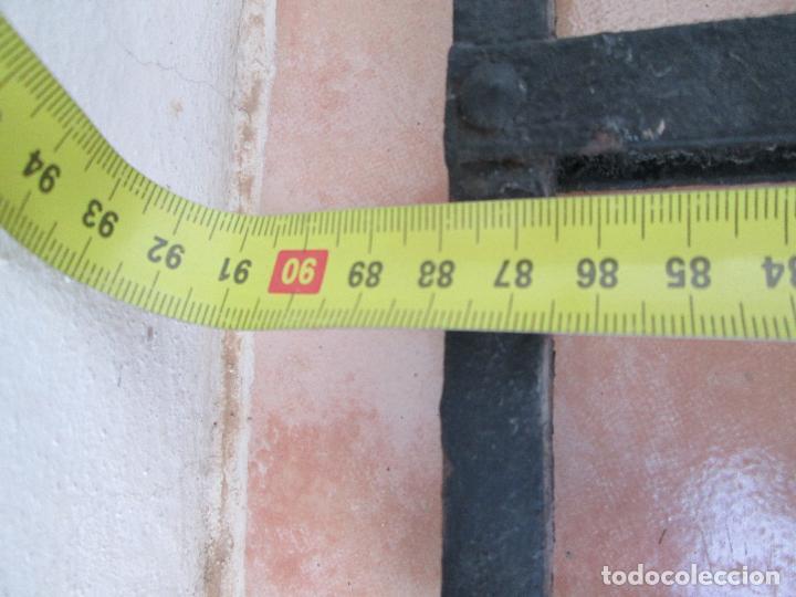 Antigüedades: Bonito Antepecho de forja remachada. Años 40. - Foto 12 - 87612716