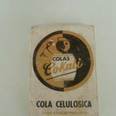 Antigüedades: PAQUETE DE COLA CELULOSICA PARA PAPELES PINTADOS AÑOS 70 . Lote 87677664