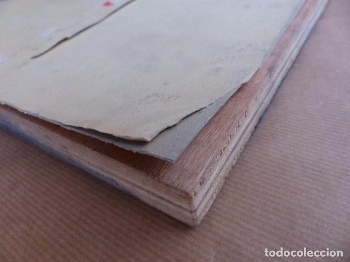 Antigüedades: PLANCHA O MOLDE IMPRENTA PUBLICIDAD ERNESTO GRAU TOMATES SELECCIONADOS, SIMAT DE VALLDIGNA, VALENCIA - Foto 11 - 87794532