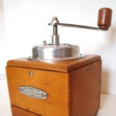 Antigüedades: MOLINILLO DE CAFÉ MARCA KLAVERTJE. MODELO 100. BÉLGICA. CA. 1940/50. Lote 88084132