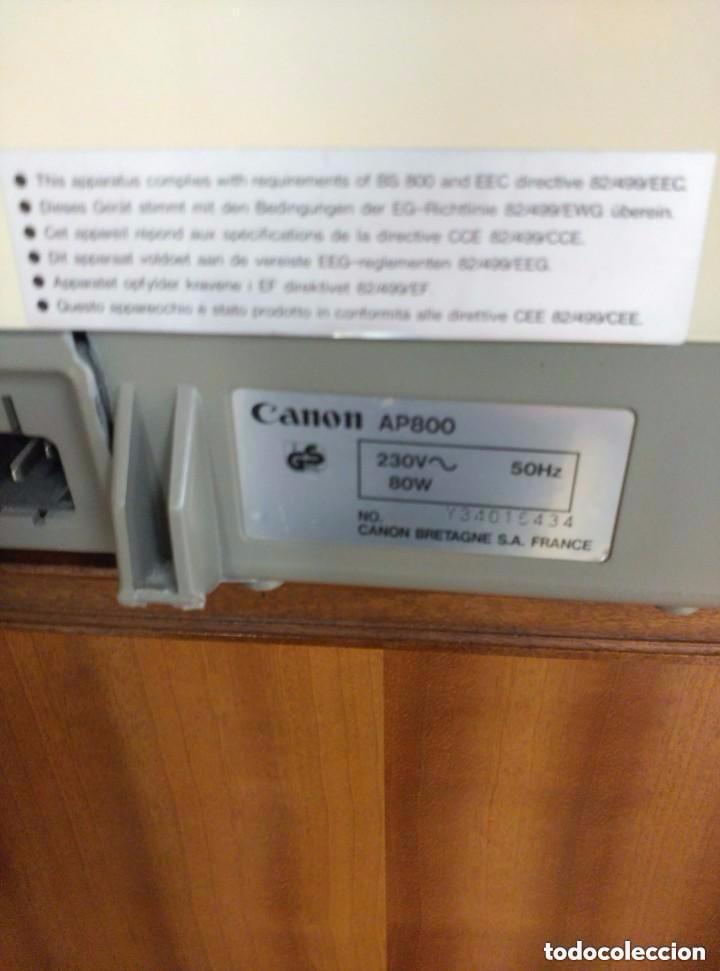 Antigüedades: maquina de escribir canon - Foto 4 - 88101224