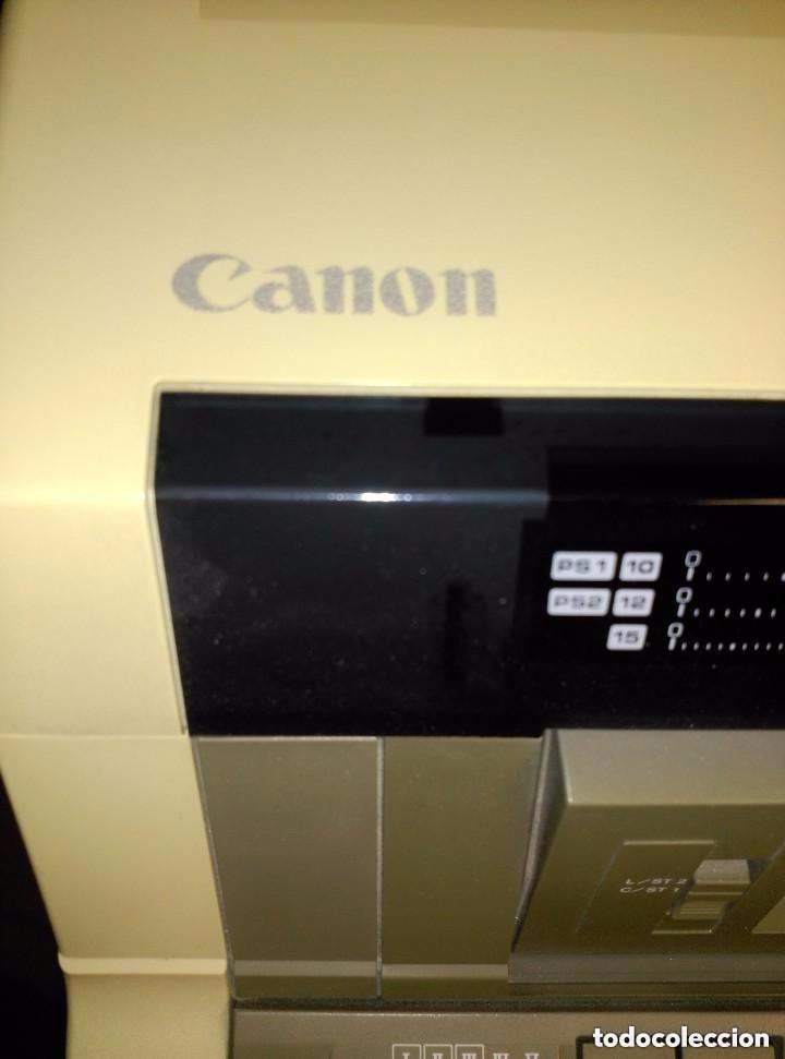 Antigüedades: maquina de escribir canon - Foto 6 - 88101224