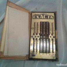 Antigüedades: CALCULADORA AÑOS 30 EXACTA. Lote 88102900