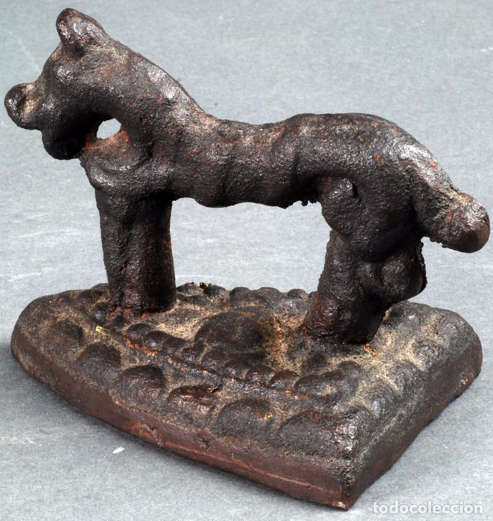 Antigüedades: Plancha en hierro zoomorfa española finales del siglo XVII principios siglo XVIII - Foto 2 - 88299404